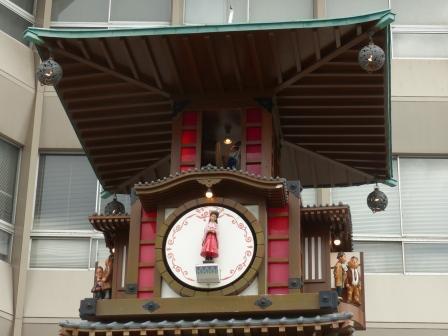 坊っちゃんカラクリ時計 3
