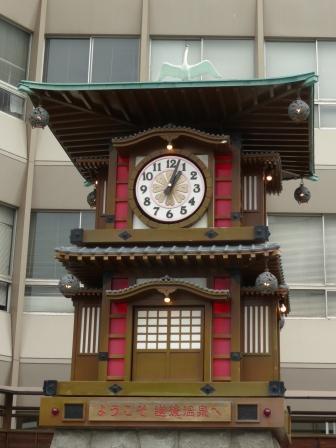 坊っちゃんカラクリ時計 8
