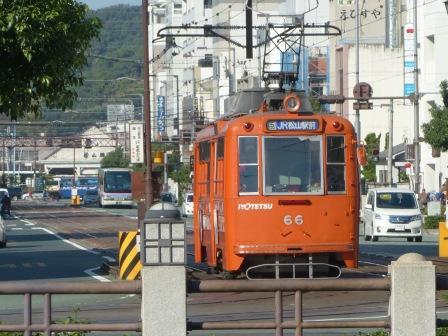 路面電車 (伊予鉄道)