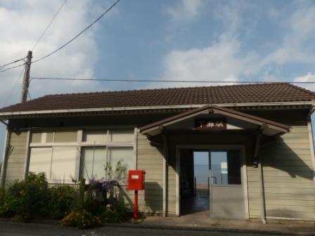 JR下灘駅 駅舎