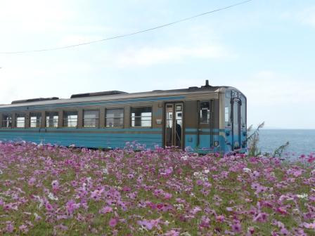 JR下灘駅 キハ54形 3