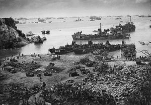 米軍沖縄上陸