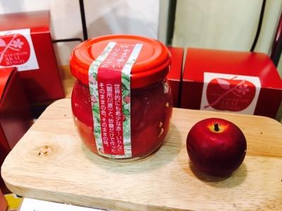 赤いりんごジャム_2697