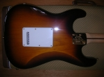 fender 60th anniversary commemorative stratocaster body back