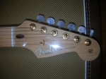 fender 60th anniversary commemorative stratocaster headstock
