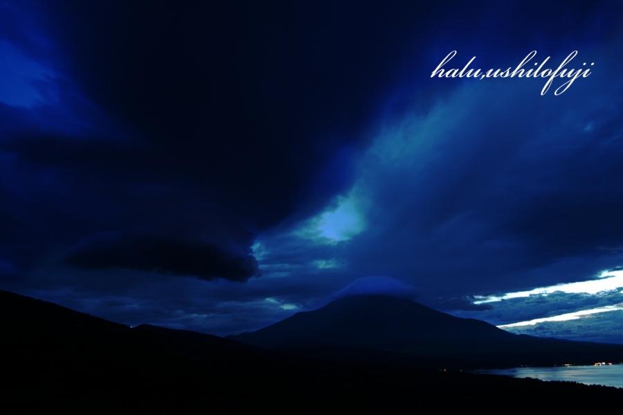 山中湖怪雲sn