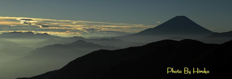 櫛形からの朝景 sn_filtered