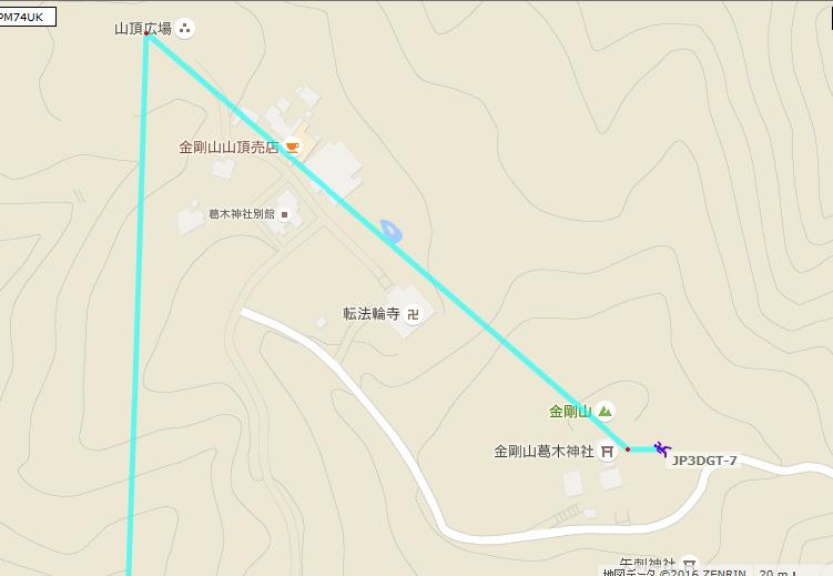 金剛山/APRS