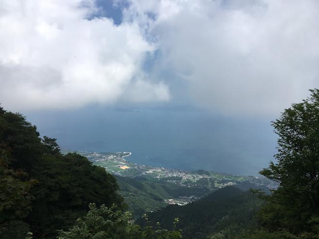 蓬莱山/琵琶湖