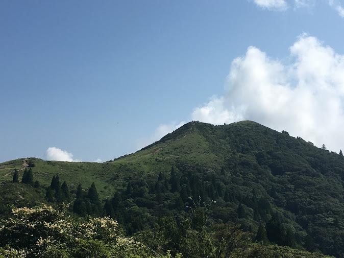 武奈ヶ岳/西南稜アップ