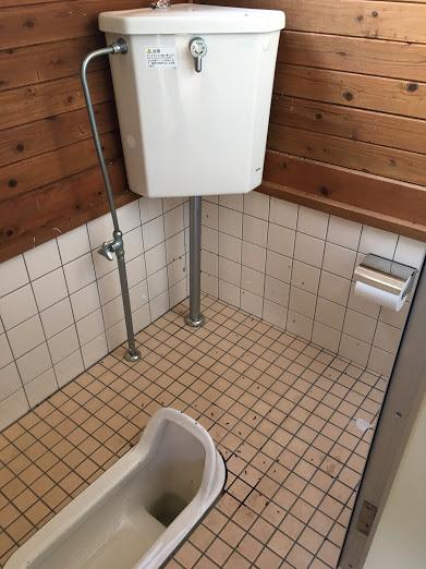長老ヶ岳/トイレ中