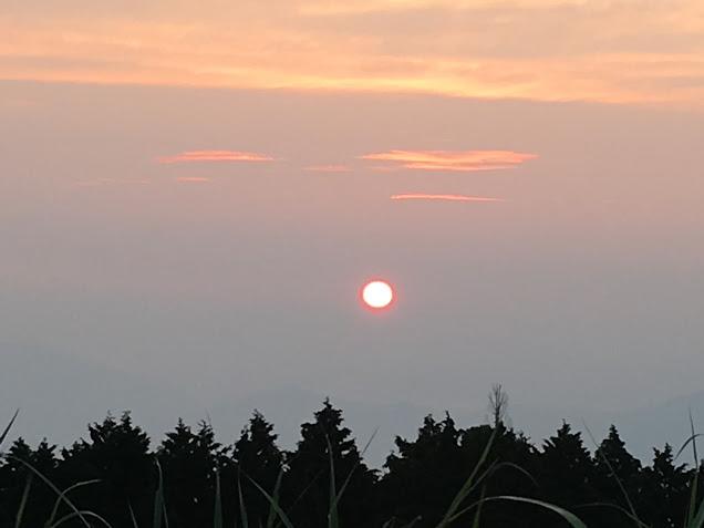 大和葛城山/朝日
