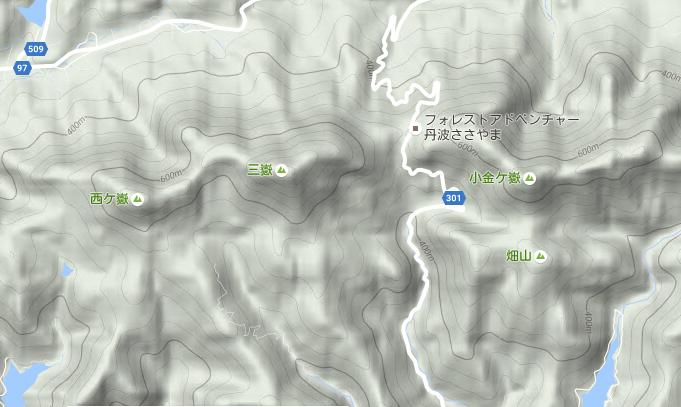 三嶽/地図