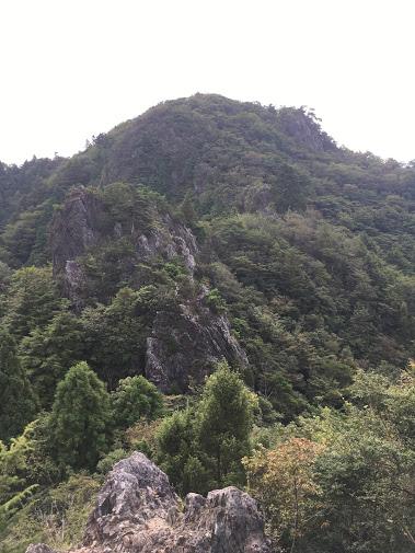小金ヶ嶽/稜線