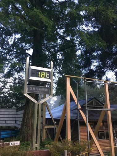 金剛山/温度計