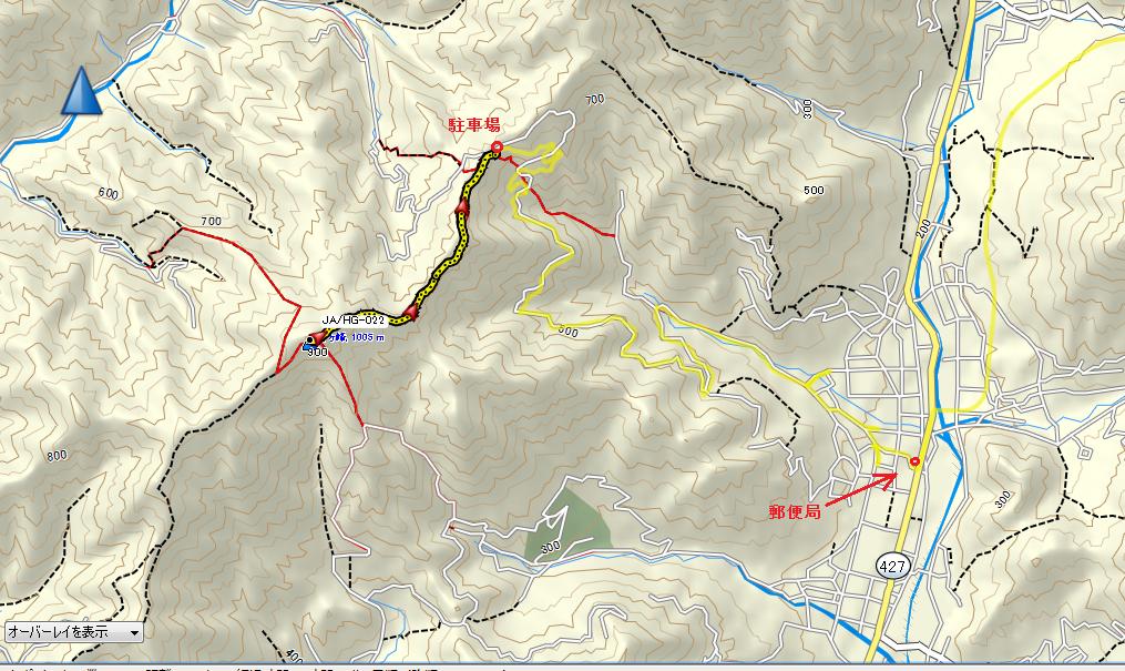 千ヶ峰/地図