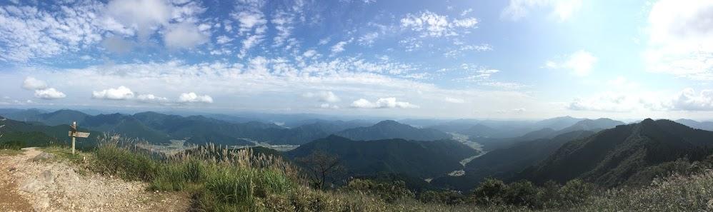 千ヶ峰/南側