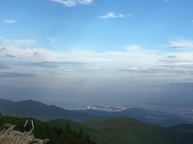 生石ヶ峰/海