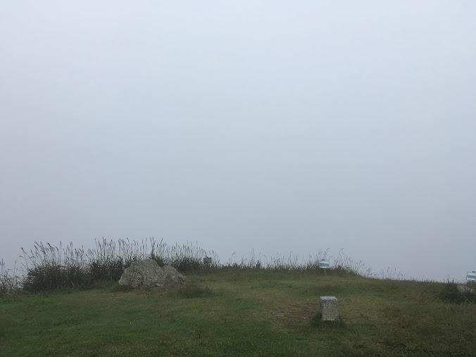 生石ヶ峰/霧