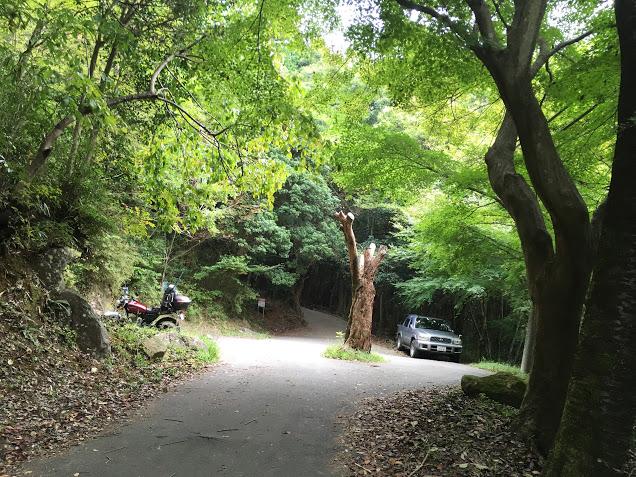 茨木竜王山/駐車場所