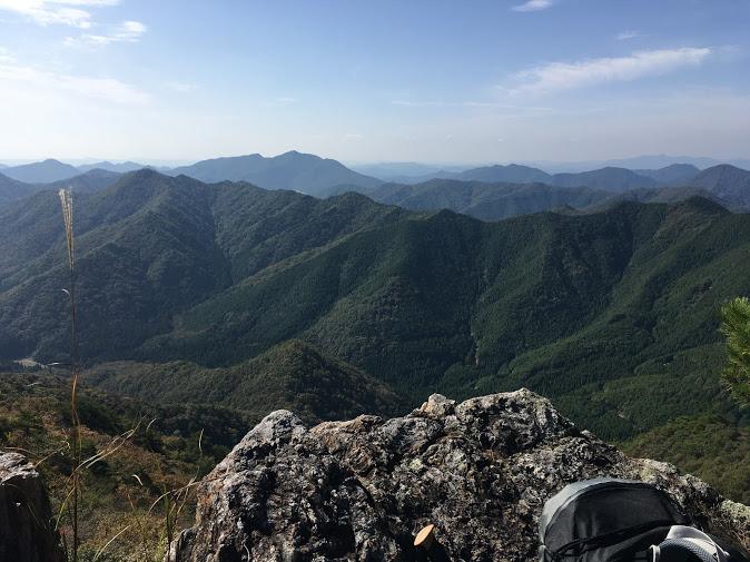 白髪岳/途中の景色