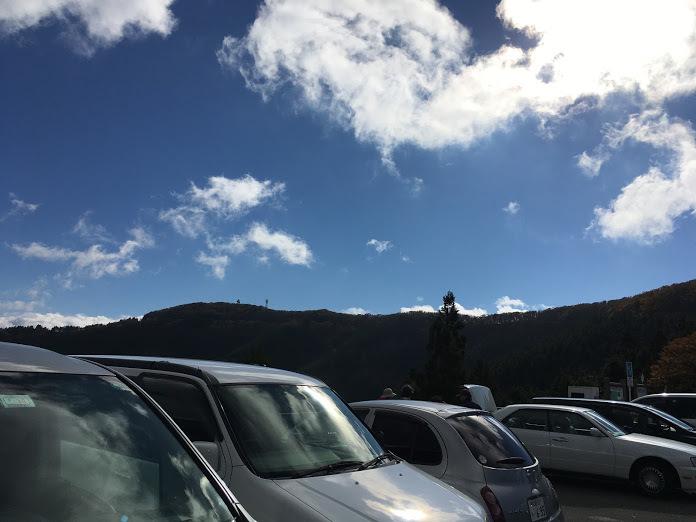 龍神岳/駐車場
