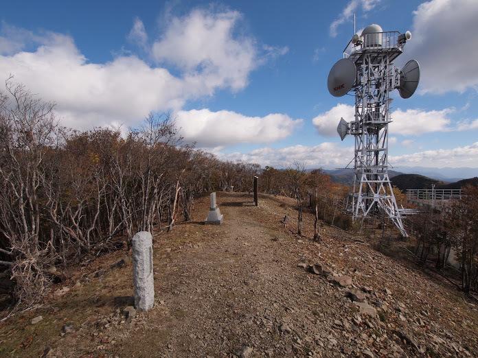 龍神岳/山頂の様子