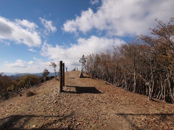 龍神岳/山頂の様子2