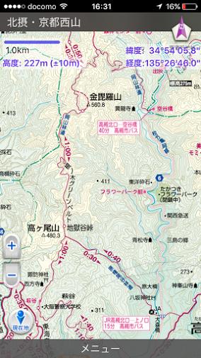 岡山三角点/地図