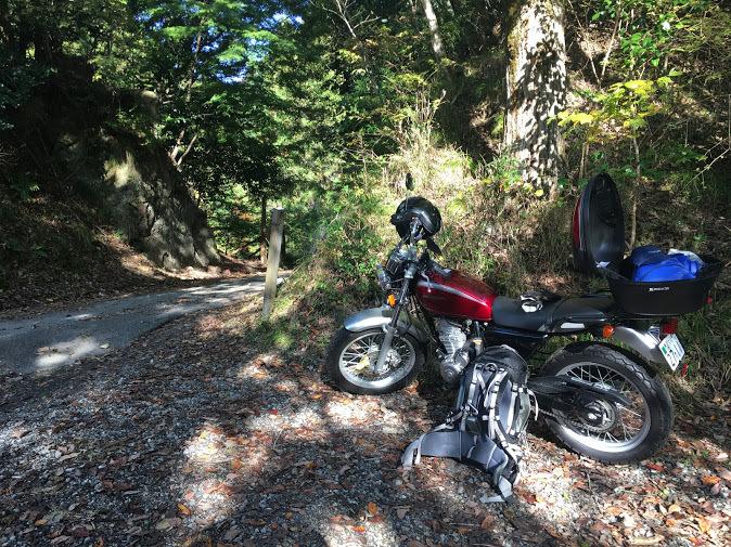 岡山三角点/バイク