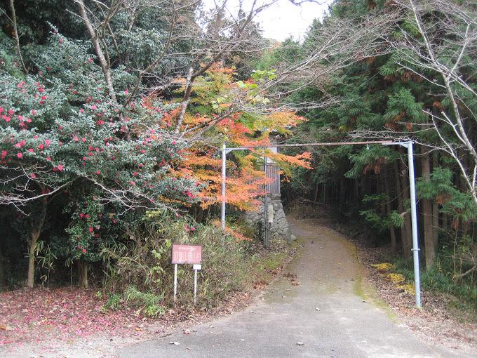 羽束山/登山口