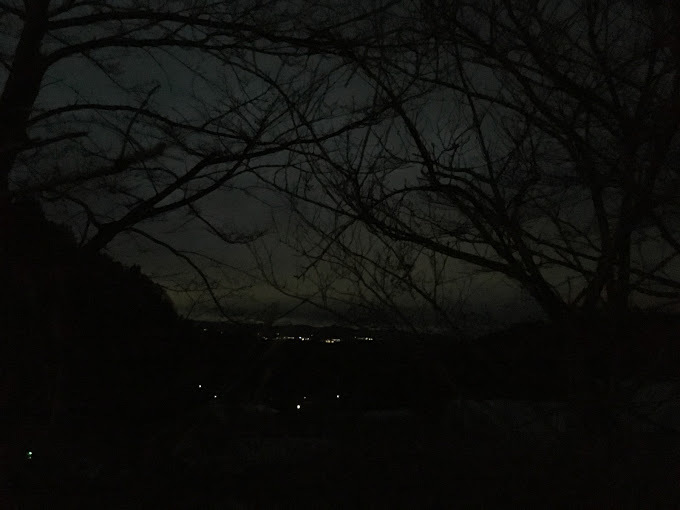 羽束山/夜明け