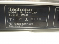 Technics Audio timer SH-4020重箱石12