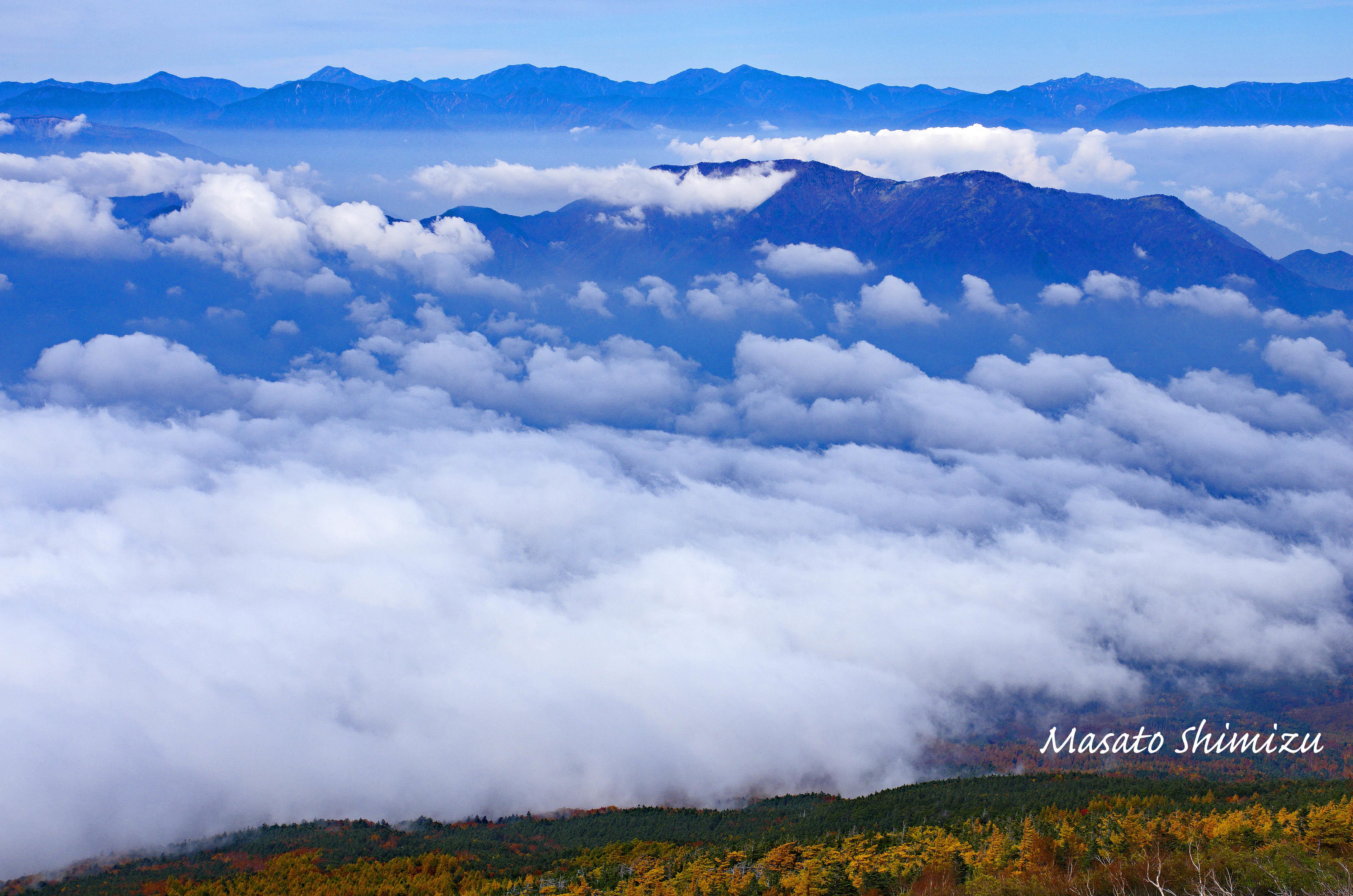 雲の上の彼方に・・