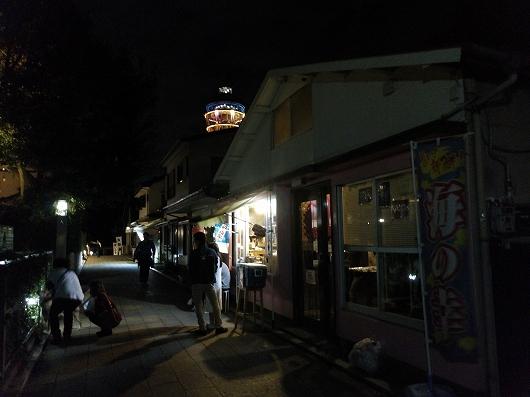 江の島の夜02-20161009