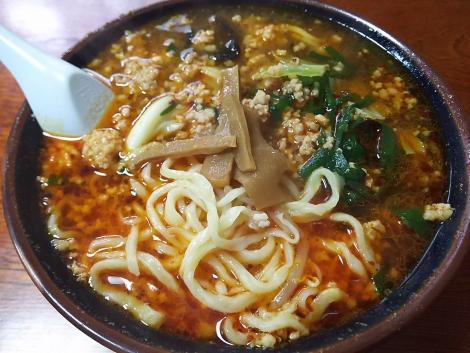 竹辛タンメン