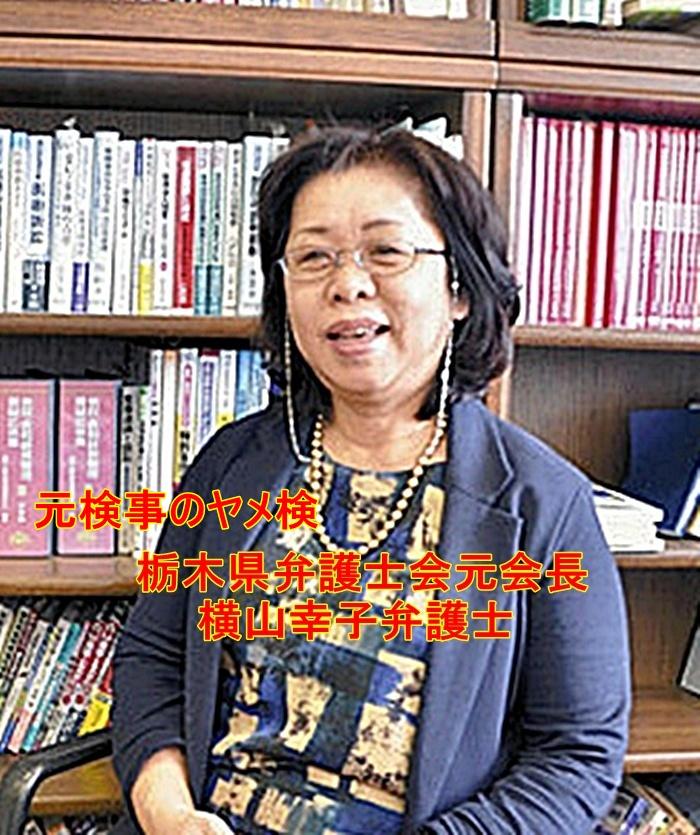 栗原敏勝容疑者 宇都宮城址公園爆破 弁護士横山幸子1