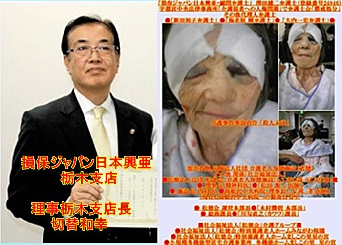 損保ジャパン日本興亜 栃木支店 切替和幸2