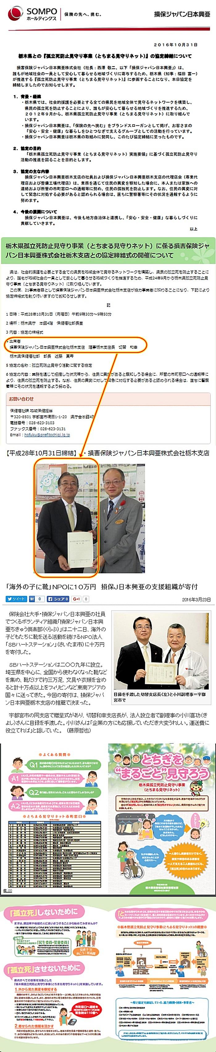 損保ジャパン日本興亜 栃木支店 切替和幸