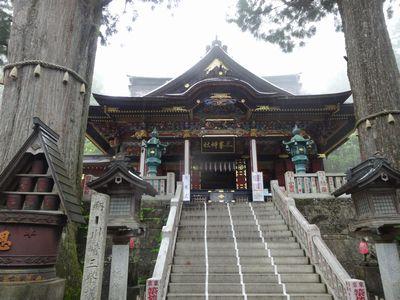 三峯神社拝殿