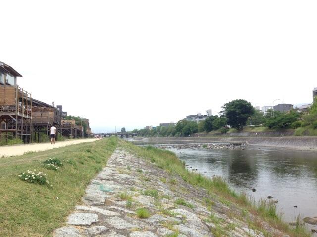 160529 鴨川へ