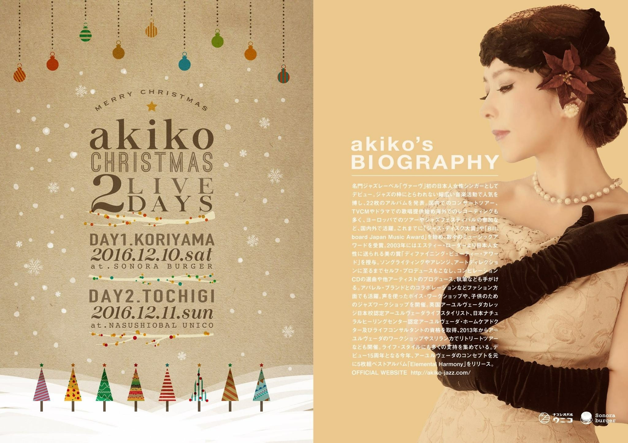 161210 akiko Christmas Live 2days