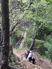 十二ヶ岳の吊橋-s