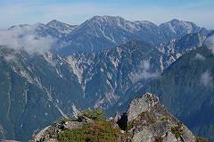 07唐沢岳から立山・剱-s