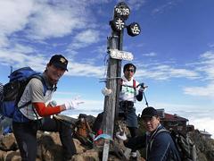 03赤岳2峰目