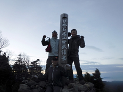 07甲武信岳山頂