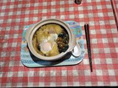 017鍋焼きうどん(1000円)