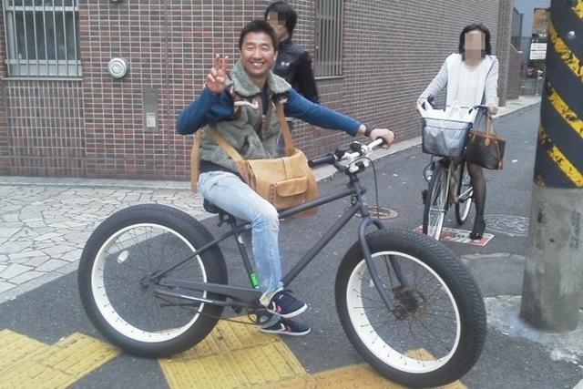 帰宅途中の酒井騎手