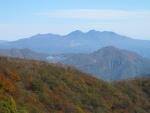 栗山ダムが見えます