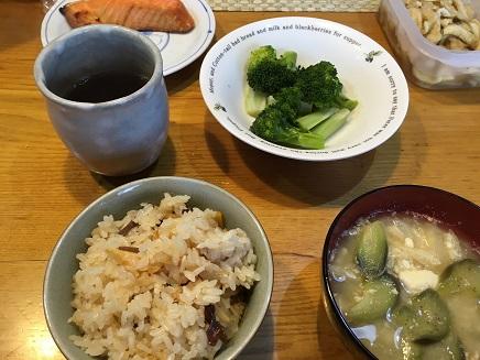 5032016昼食竹の子飯S